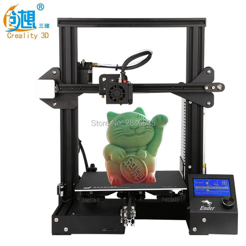 cheap 3d printers Ender-3 Creality 3D printer V-slot prusa I3 Kit Resume Power Failure Printer 3D DIY KIT 110C for Hotbed