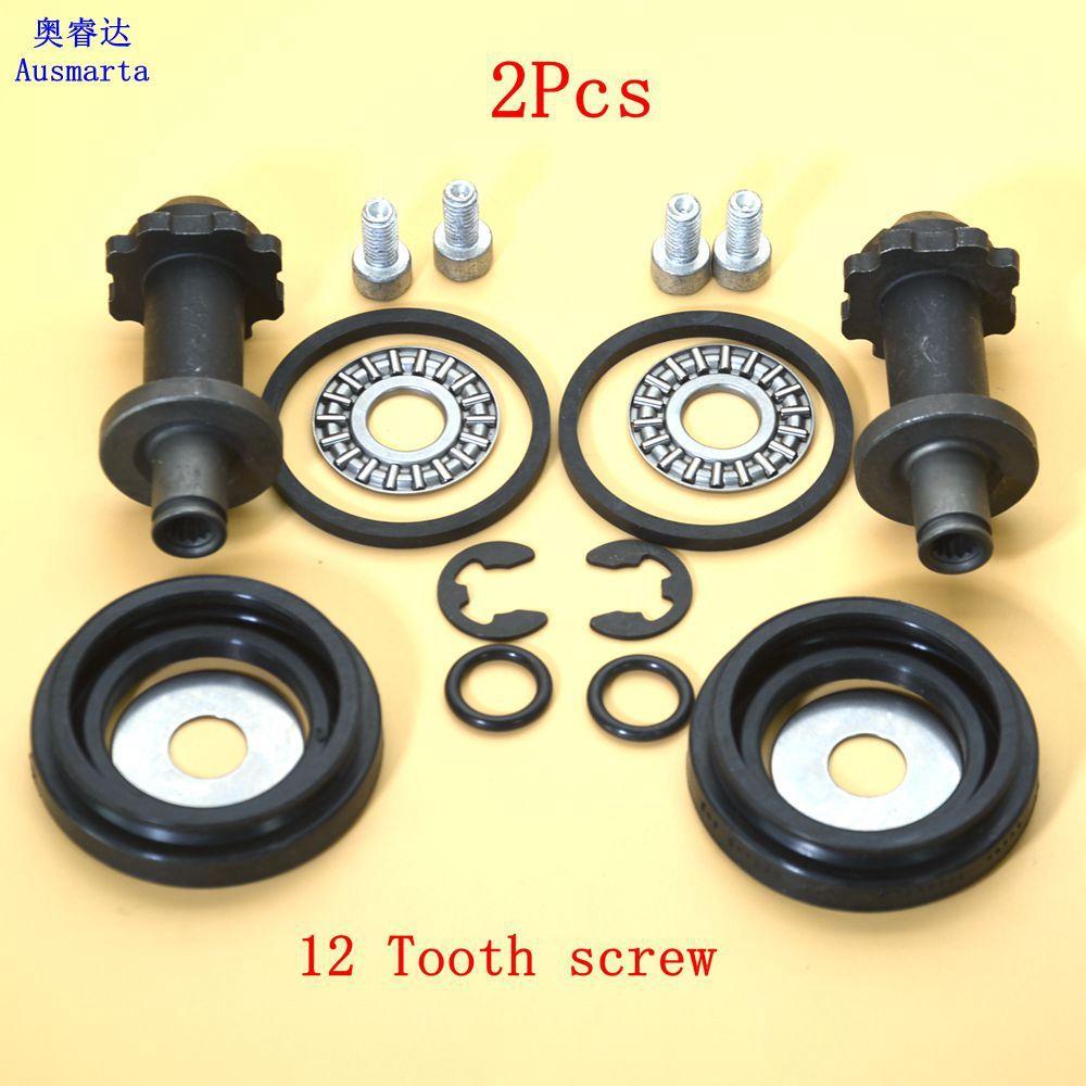 1-2 Pcs TRW 12 screw tooth brake motor For VW Sharan Tiguan Passat B7 CC B6 B7 A6 Q3 Seat Alhambra II 32332267 32332081A