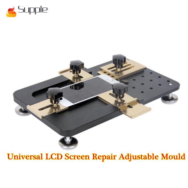 Supple Universal LCD Screen Repair Adjustable Mould LCD OCA Laminate Fixed mold for iPhone for Samsung for Huawei
