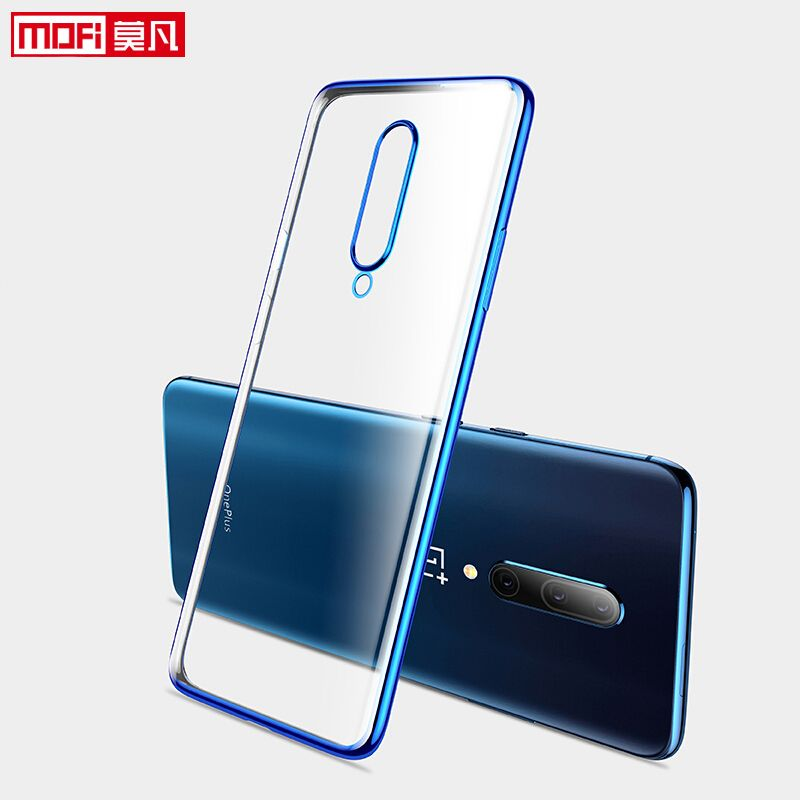 OnePlus 7 coque pro coque MOFi OnePlus7 Pro coque souple dos tpu ultra mince dos silicone OnePlus 7 7pro housse OnePlus 7
