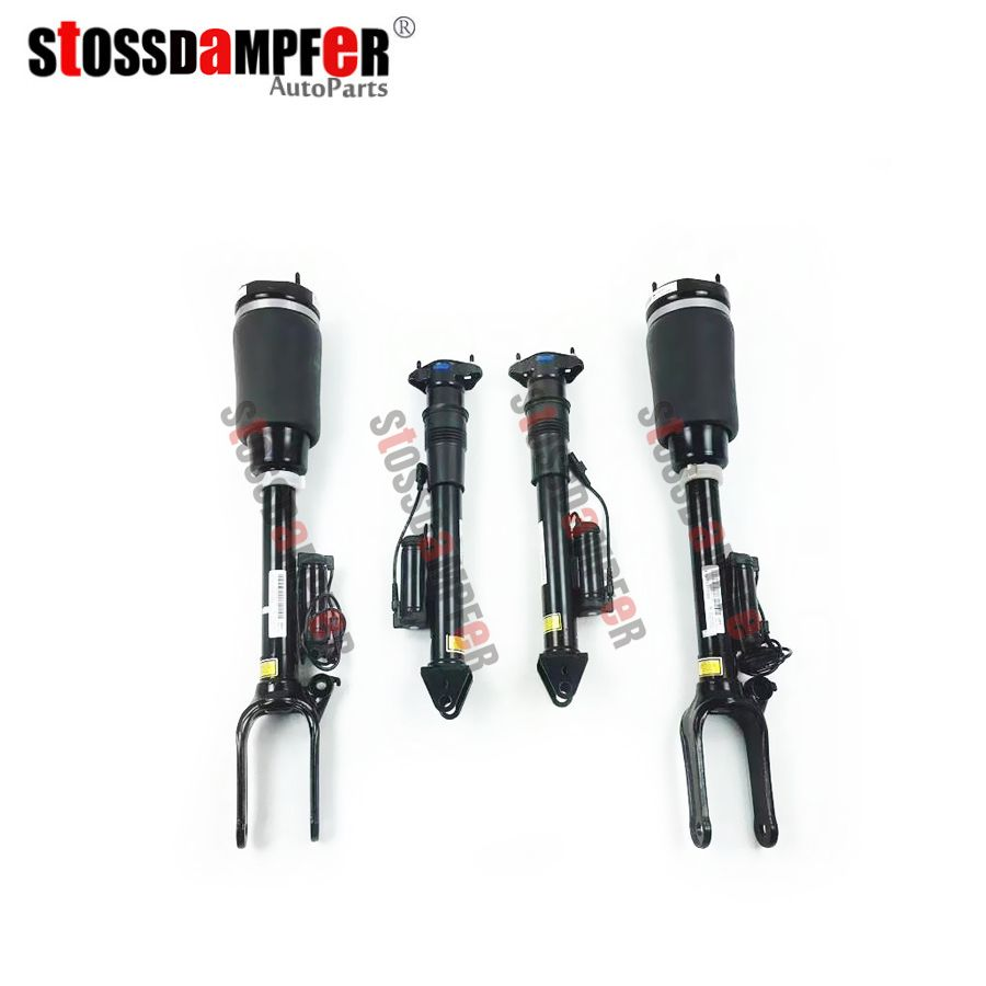 StOSSDaMPFeR NEW 4PCS Front Shock Absorber With ADS Rear Suspension Air Ride Fit Mercedes-Benz GL ML W164 1643206013 1643202031