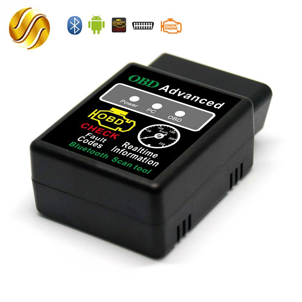Viecar ELM327 V1.5 ELM 327 PIC18F25K80 Bluetooth Version 1.5 OBDII / OBD2 for Windows Android Torque Car Code Scanner