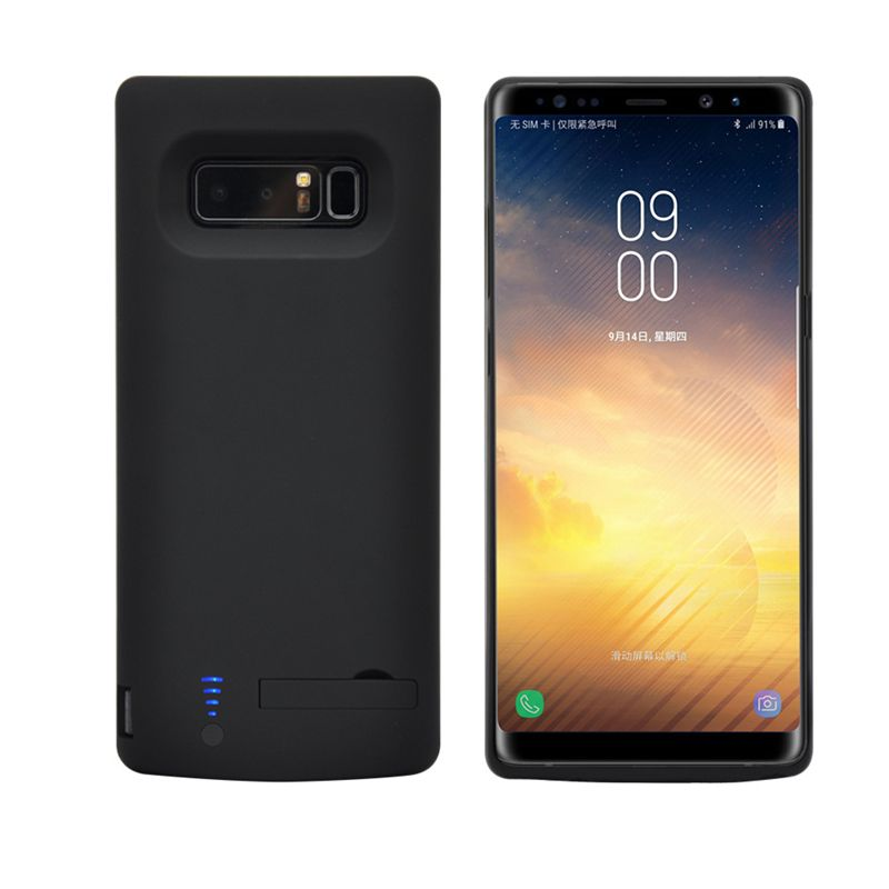 6500 mah Externe Power Bank Ladegerät Fall Für Samsung Galaxy Note8 Ultradünne Tragbare Backup Batterie Fall Für Samsung Note 8