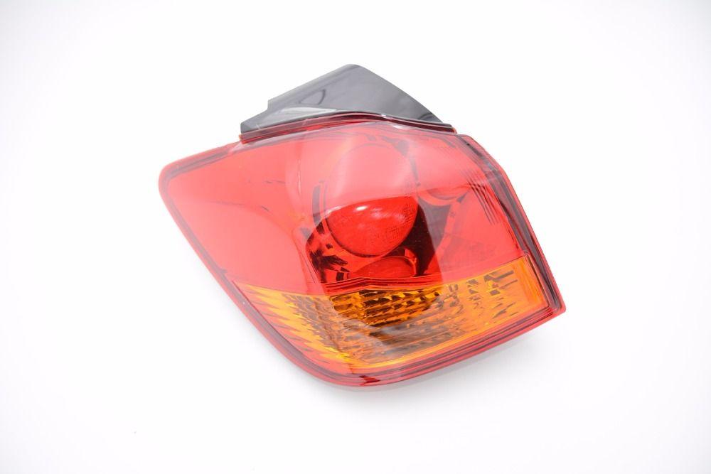 1 Stücke 8336A087 Linke Seite Auto Rücklicht Rücklicht Lampe Licht mit Birne für Mitsubishi ASX 2009-2015