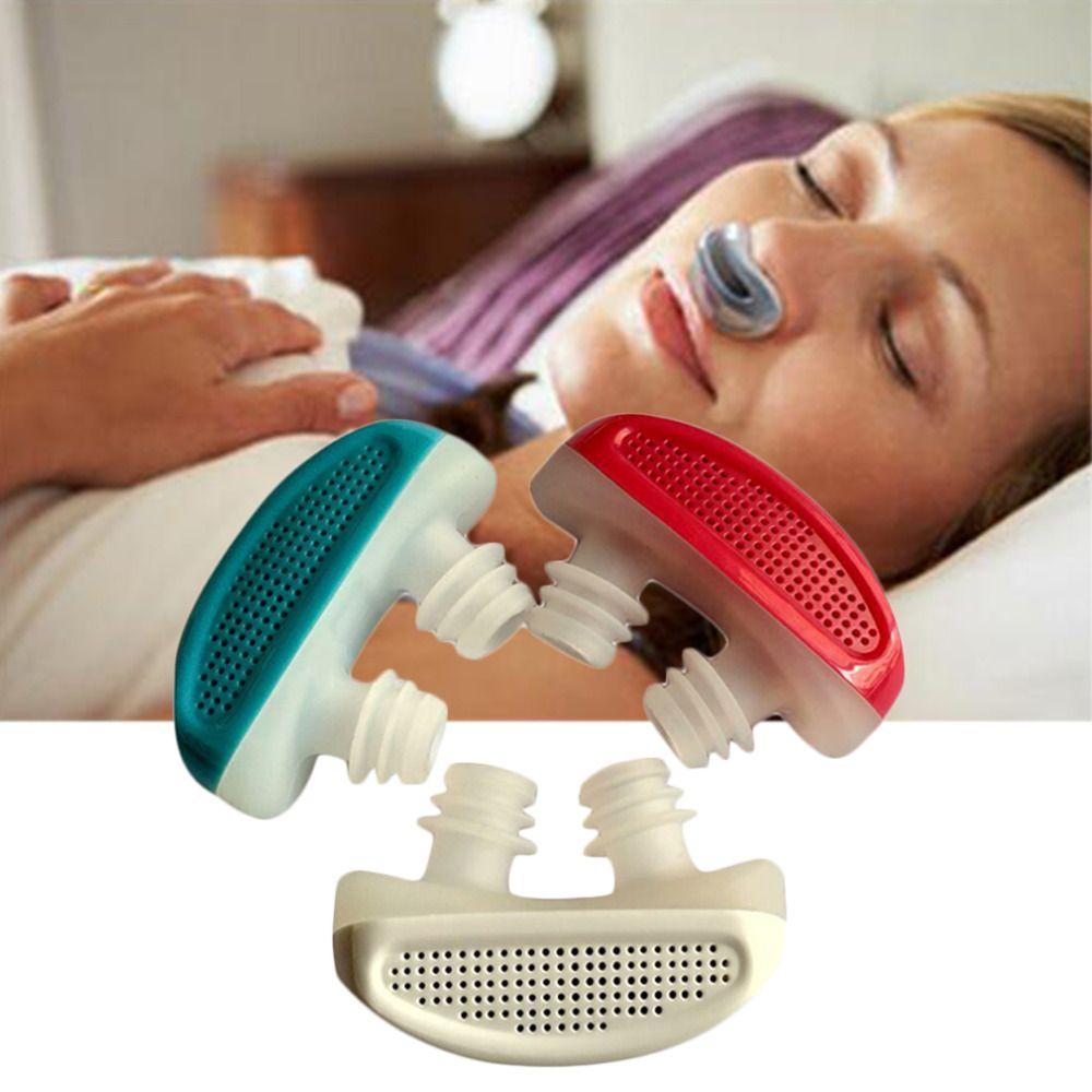 NOUVEAU! PM2.5 Brevet CPAP Ronflement Dispositif Apnée Ventilation Nez Appareil Respiratoire La Congestion Nasale Propre purificateur D'air