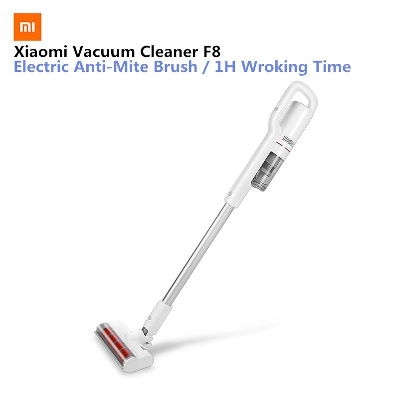 Xiaomi Mijia Roidmi F8 Smart Vacuum Cleaner With Wifi App Remote Control With Led Night Light For Xiaomi Smart Home Kit