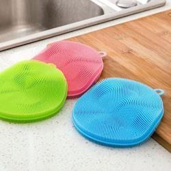 Cleaning Brush Dishwashing Sponge Multi-functional Fruit Vegetable Cutlery Kitchenware Brushes Kitchen Tools