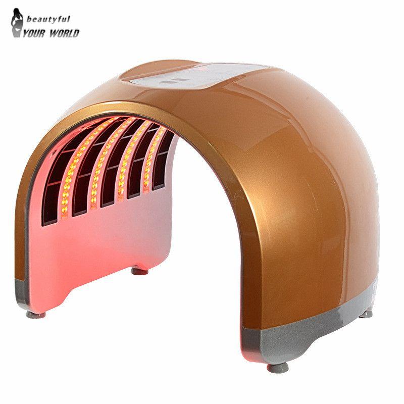 Neue kommen Photon PDT Led Licht Gesichts Maske schönheit Maschine 4 Farben Akne Behandlung Gesicht Bleaching Haut Verjüngung Licht Therapie