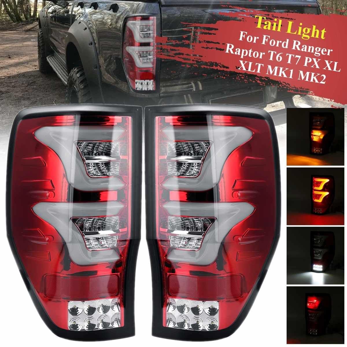 Led Rücklicht Für Ford Ranger Raptor T6 T7 PX XL XLT MK1 MK2 2012-2018 Rücklicht Hinten Reverse bremse Licht Lampe Drl Zubehör