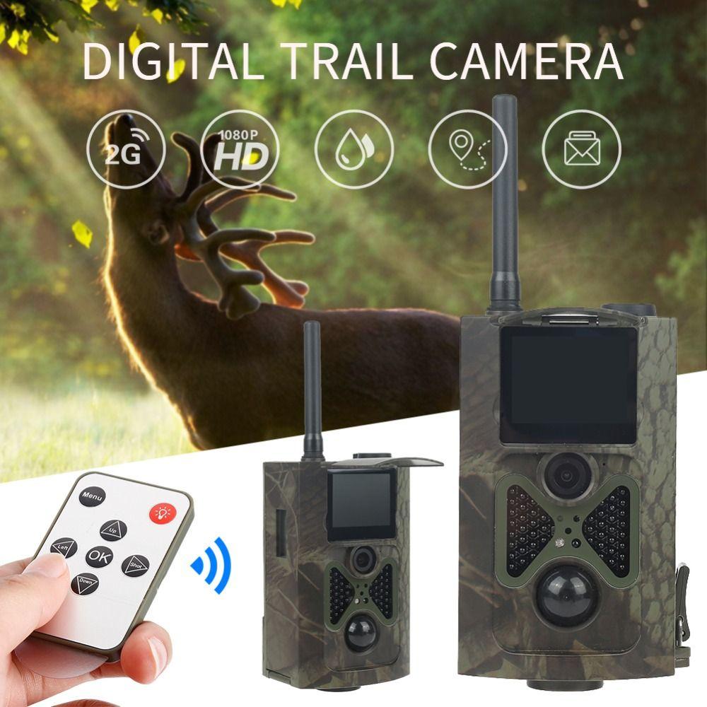 Skatolly HC300M Hunting Trail Camera HC300M Full HD 12MP 1080P Video Night Vision Scouting Infrared MMS GPRS Multifunction Tools