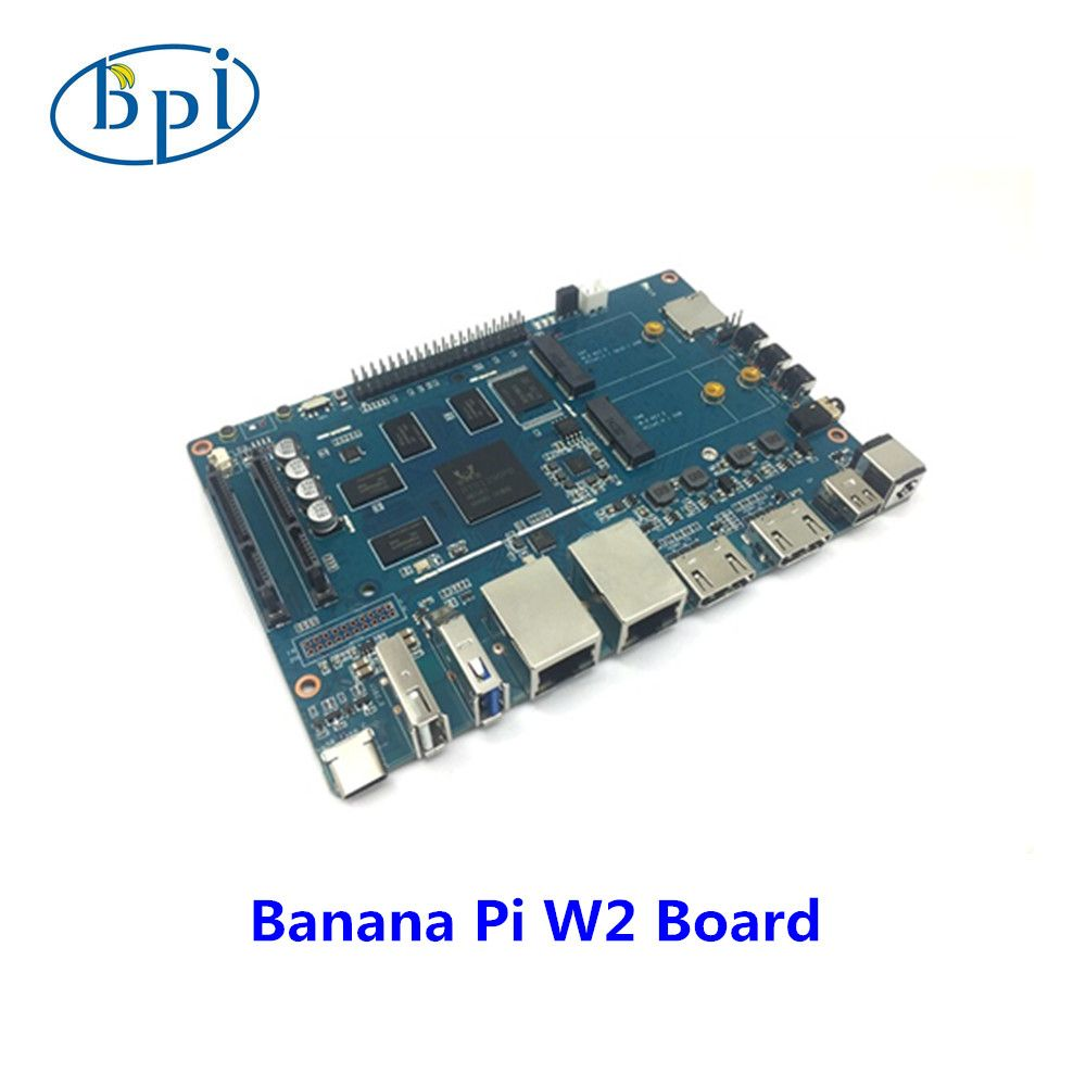 Banana Pi BPI W2 smart NAS router RTD1296 chip design