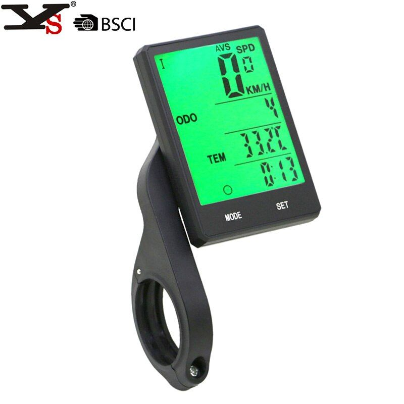 Cycling Wireless bracket Stopwatch 2.8 Large Screen Waterproof Bike Computer <font><b>Speedometer</b></font> Speed Odometer