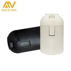 10 PCS/Lot accessoires d'éclairage E14 E27 support de lampe Titulaire accessori douille De Lampe luminaire douille flexible