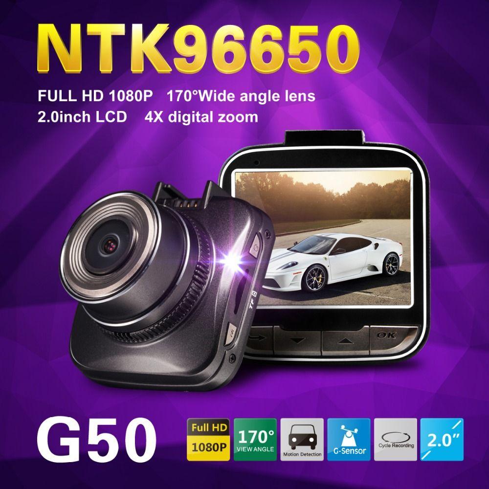Novatek 96650 G50 Full HD 1080 P Mini Auto DVR Video Recorder 2,0