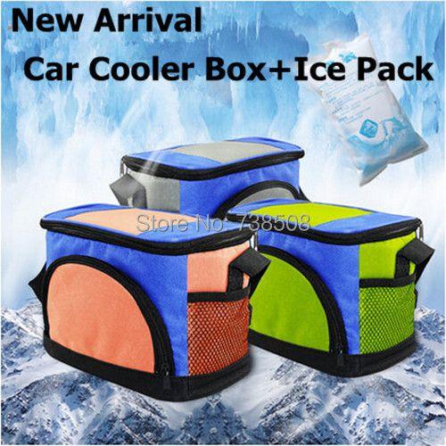 Nouvelle Mini Voiture Réfrigérateur Sac Portable Réfrigérateur Pour Voiture Voyage Glacière De Voiture À Double Usage Réfrigérateur De Voiture Sac