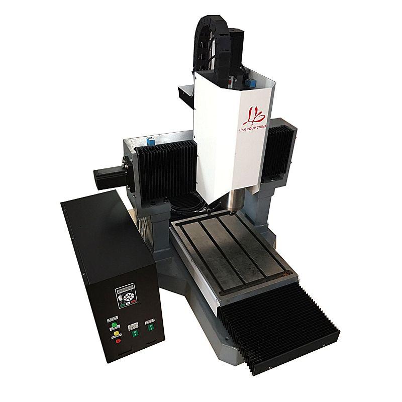 DIY mini cnc router LY 3040 volle gusseisen cnc gravur maschine für metall 3 achse schneiden bohren
