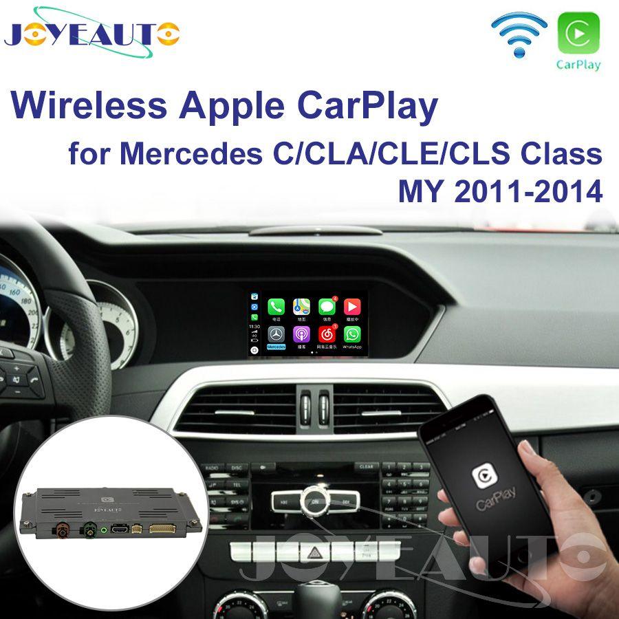 Joyeauto Wifi Drahtlose Carplay Auto Spielen Retrofit für 2011-2014 Mercedes C CLA CLE CLS klasse W204 NTG4.5/ 4,7 Android Auto Spiegel