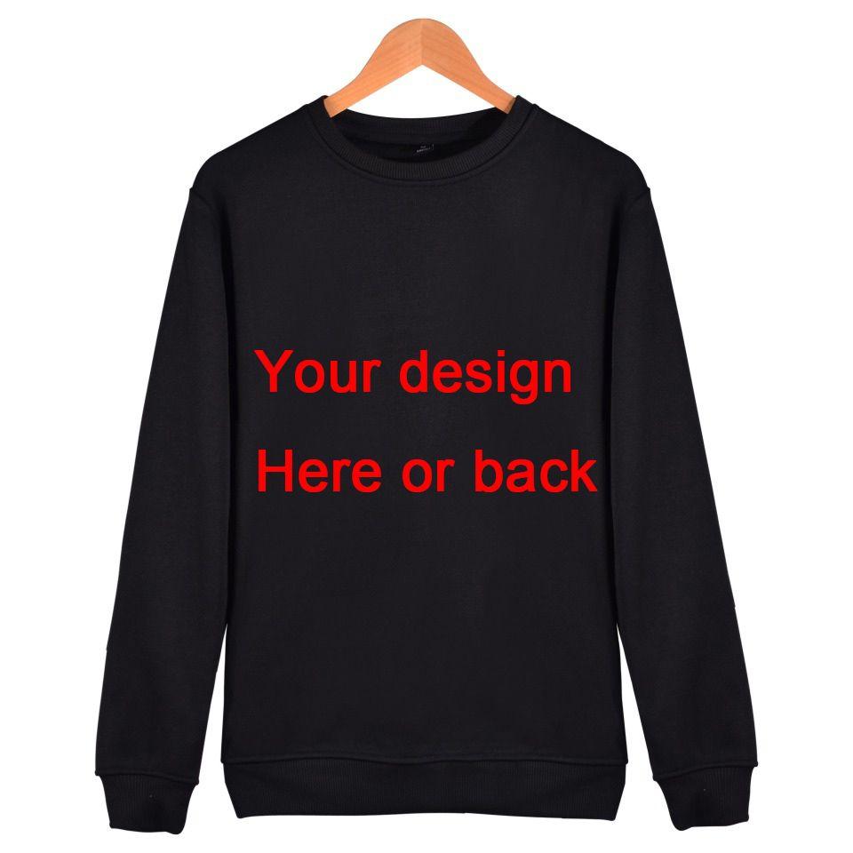 Men Women Customer Design Hoodie Sweatshirt H