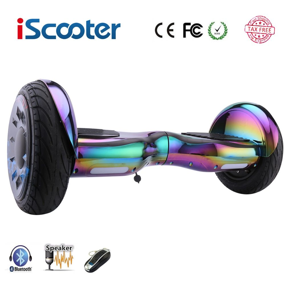Hoverboards 10 zoll Scooter Selbstabgleich Elektrische Hoverboard Über Bord Gyroscooter Oxboard Skateboard Zwei Rädern Hoverboard
