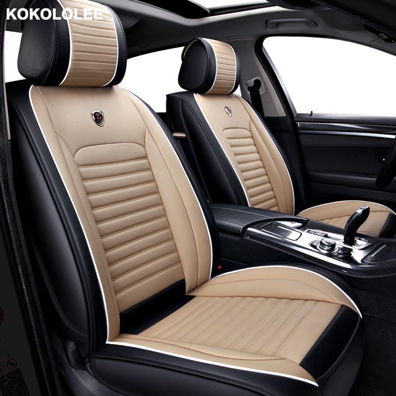 [Kokololee] Auto Leder auto sitz abdeckung Für jeep renegade zubehör kompass 2018 grand cherokee abdeckungen für fahrzeug sitze