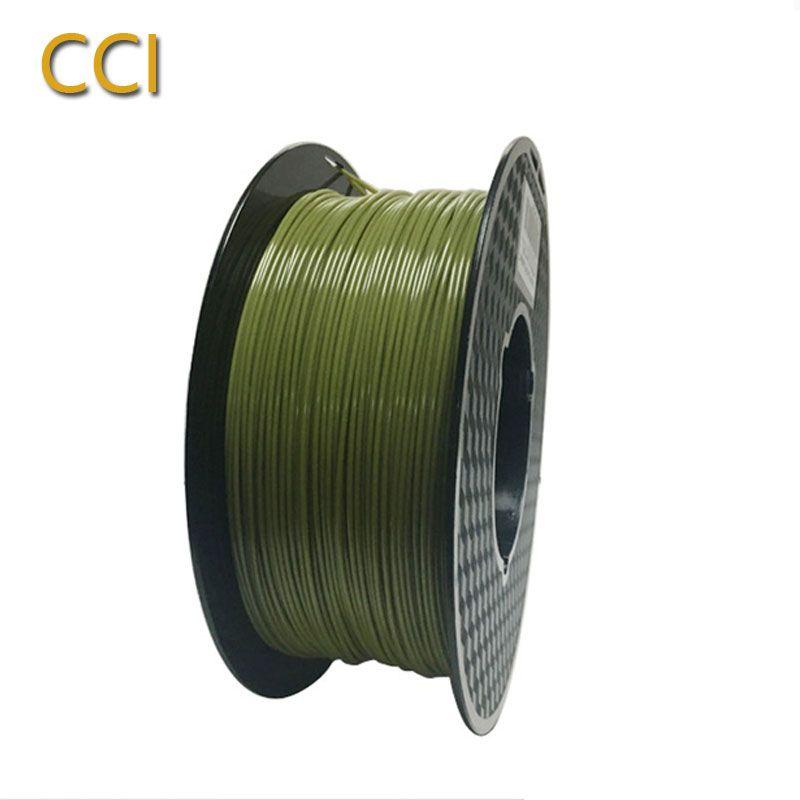 PLA filament 1.75mm 1kg armée vert gris blanc rouge 3d imprimante filament top 3d stylo multi-couleurs haute qualité FDM matière plastique