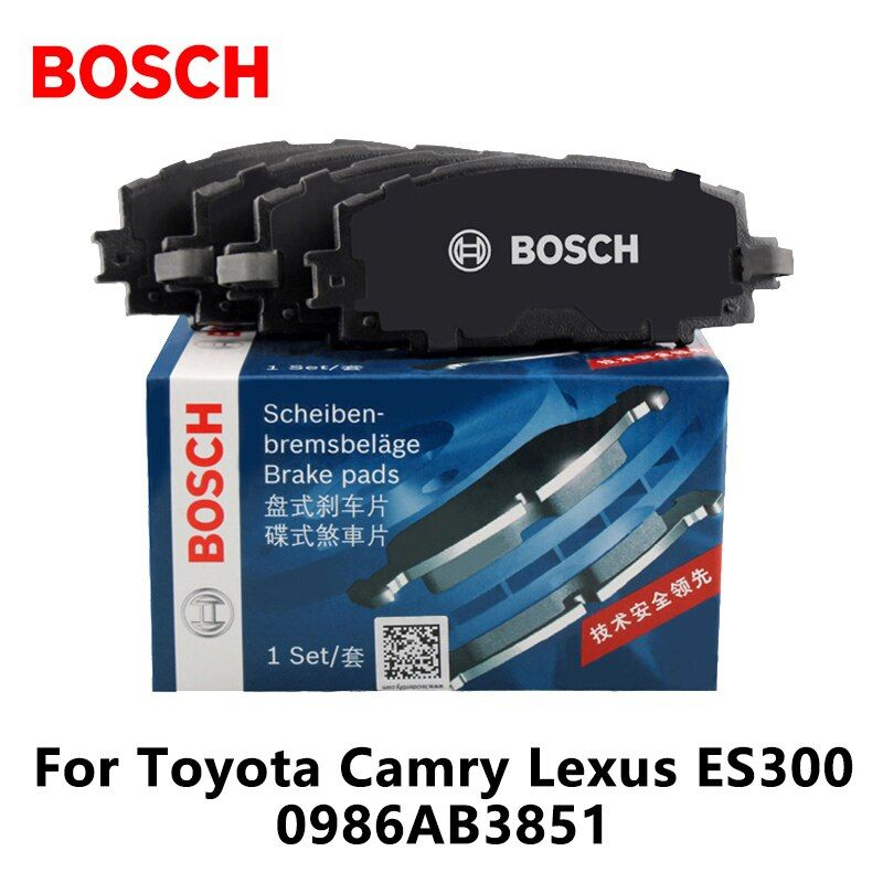 4pieces/set Bosch Car Front Brake Pads For Toyota Camry Lexus ES300 0986AB3851