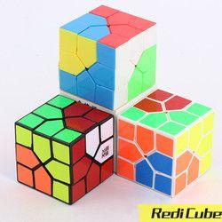 Terbaru Moyu Redi Cube Magic Puzzle Warna-warni Kecepatan Kubus Profesional Moyu Barel Redi Transparan Stickerless