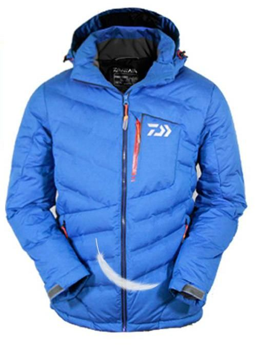 2018 New Fishing Down Jacket Coat Clothes White Duck Down Keep Warm Breathable Autumn And Winter Clothing Camping Hiking Jacket