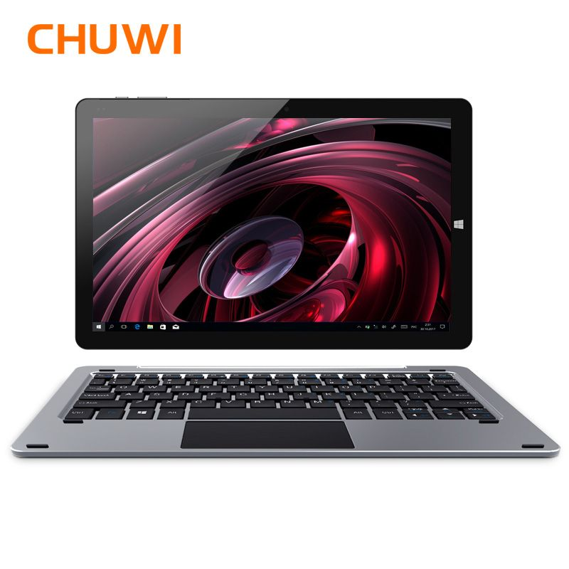 Original CHUWI Hi10 Plus <font><b>Tablet</b></font> PC Windows 10 Android 5.1 Intel Atom Z8350 Quad Core 4GB RAM 64GB ROM 10.8 Inch 1920X1280 2.0MP