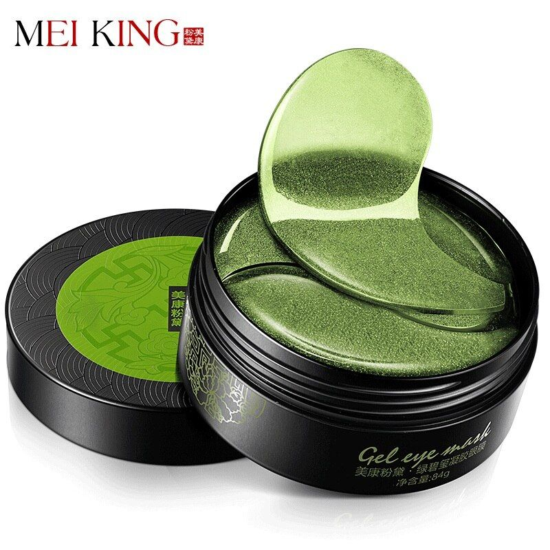 MEIKING Collagen Crystal Eye Mask Gel Eye Patches 60pcs Eye <font><b>Care</b></font> Sleep Masks Remover Dark Dircles Anti Age Bag Eye Wrinkle Patch