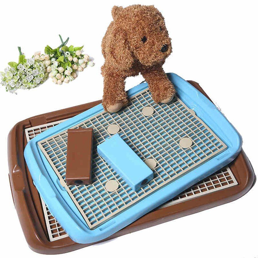 Reinigung Indoor Pet Hund Wc Tablett Matte Training Pads Hunde Poop Pee Kot Bandeja Katze Toiletten Kleine Mascotas Welpen Töpfchen 80A0914