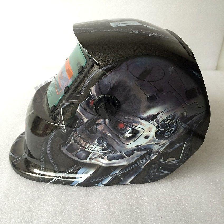 Welding tools Stepless adjust Solar Auto darkening TIG MIG MAG MMA welding helmets/face mask/Electric welding mask/welder cap