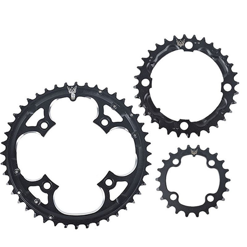 ZTTO 22T 32T 44T Chainring 9 Speed Crank Carbon Steel Chain Ring for Shimano SLX XT Crankset