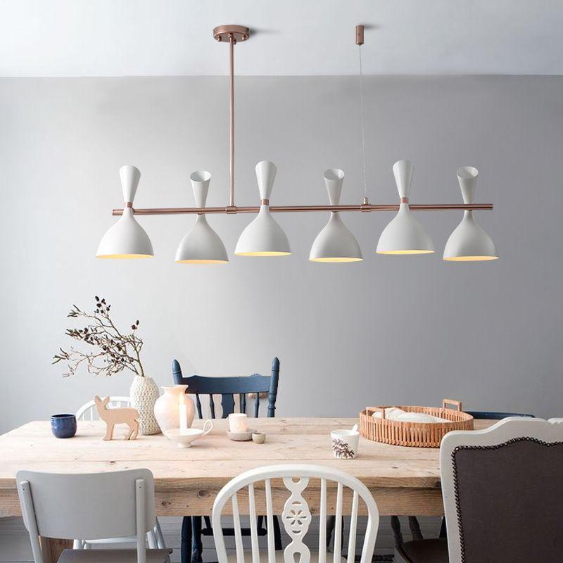 Scandinavian designer restaurant hanging lamps simple postmodern creative cafe dining room table bar nordic pendant lights wood