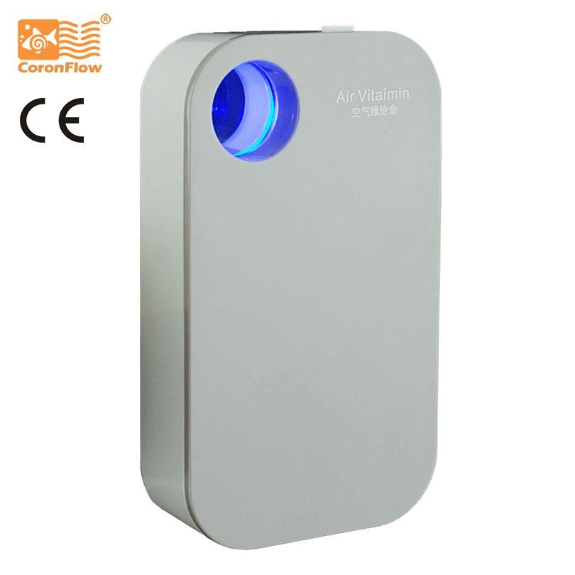 Veilleuse à vitamine LED à ions négatifs Coronwater pour l'éclairage et le nettoyage de l'air pendant le sommeil