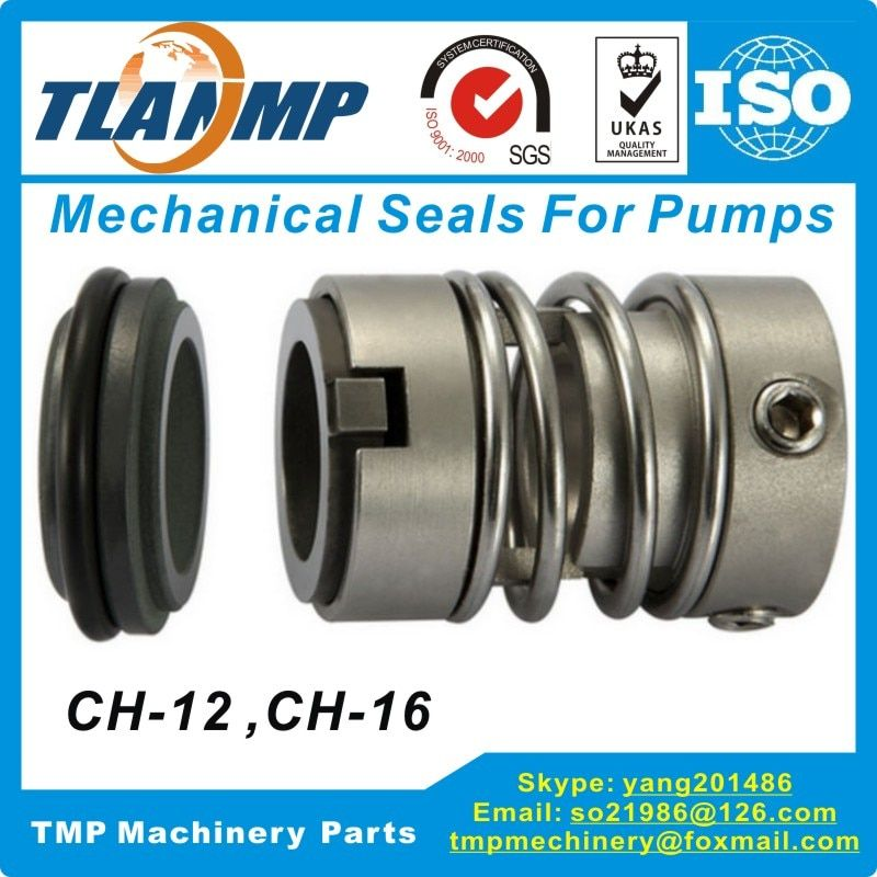 CH-12 / CNP-CDL12 Mechanical Seal High temperature corrosion resistance For Shaft Size 12mm CNP-CDL Pump