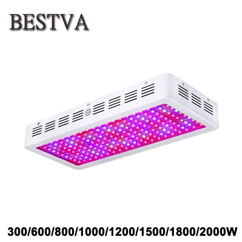 BestVA 300 watt 600 watt 800 watt 1000 watt 1200 watt 1500 watt 1800 watt 2000 watt Volle Geführte spektrum wachsen Licht für indoor pflanzen wachsen led licht gewächshaus led