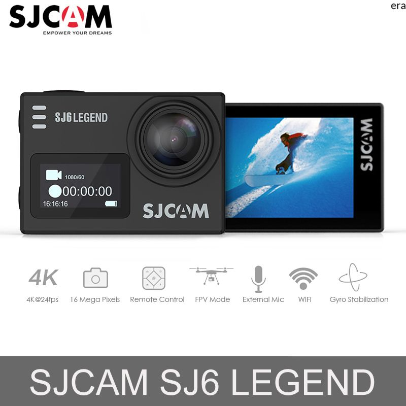 D'origine SJCAM SJ6 Légende 16MP caméra d'action 2.0