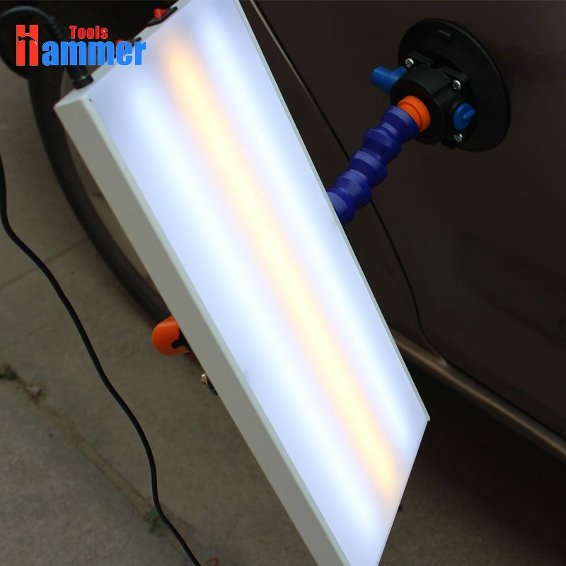 PDR Lampe Ausbeulen ohne Reparatur LED Licht PDR Werkzeuge 3 Streifen Led-leuchten PDR lampe PDR licht hagel dent entfernung werkzeuge kit