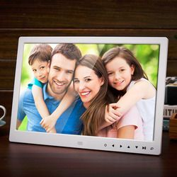 13 Inch 1280*800 HD Front Touch Digital Photo Frame High Resolution Wide Screen Picture Frame Photo Album Frame US/EU/UK Plug