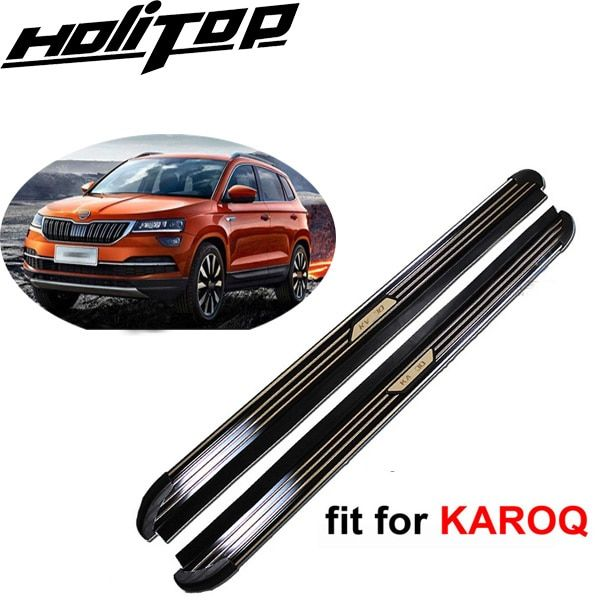 Nerf bar foot board side step side bar pedal for SKODA KAROQ 2017 2018+,OE model,HOT sale in Asia,from HITOP reliable seller