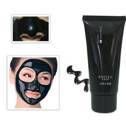 Nouveau Noir Masque Traitement de L'acné Blackhead Remover Peel Off Black Head Anti Acné Visage de Charbon De Bois Masque Soins de La Peau 60g + 8g kniyea