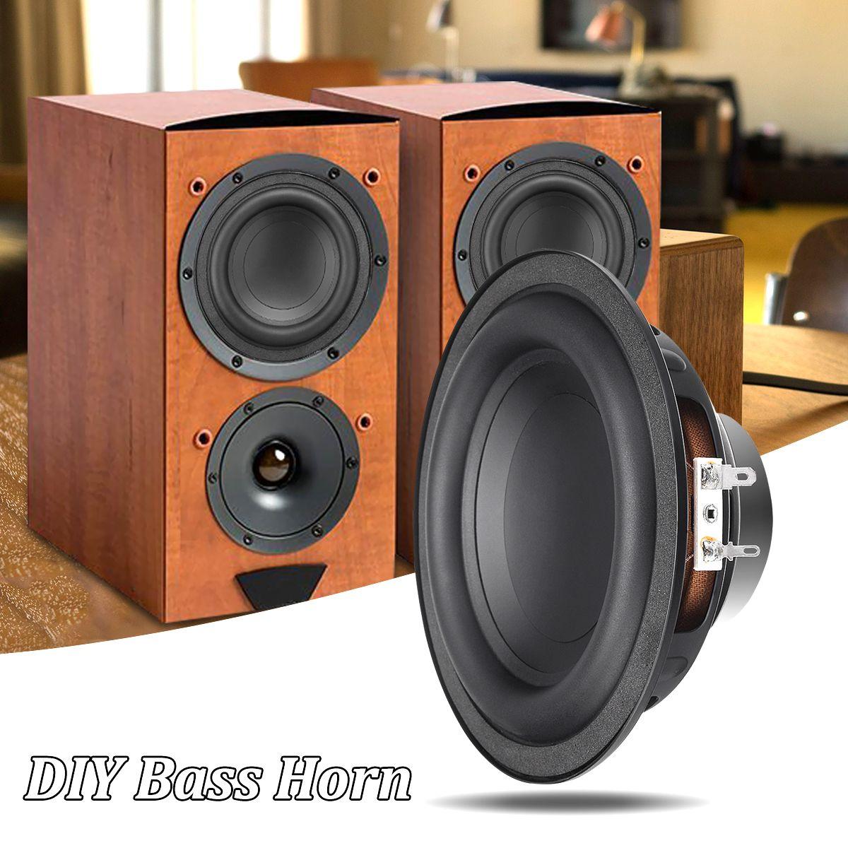 1pcs Subwoofer Speaker Unit 50W DIY Sound Box Loudspeaker Stereo Subwoofer Speaker Strong Bass Horn Speaker Accessories Trumpet