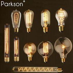 Rétro vintage edison ampoule e27 40 w 220 v ampoule lampe vintage edison ampoule À Incandescence Filament ampoule led industrielle décor