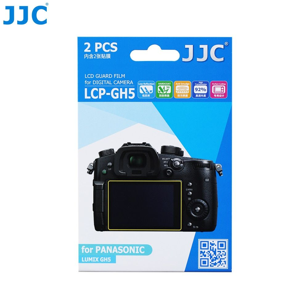 JJC LCD Screen Protector  Camera Protect  Cover LCD Guard Film for PANASONIC LUMIX GH5