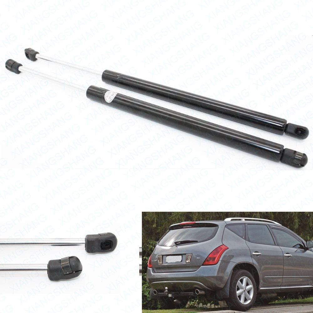 2pcs Auto Tailgate Boot Gas Struts Shock Struts Damper Lift Supports for Nissan Murano Z50 2003-2005 2006 2007 Rear Left&Right