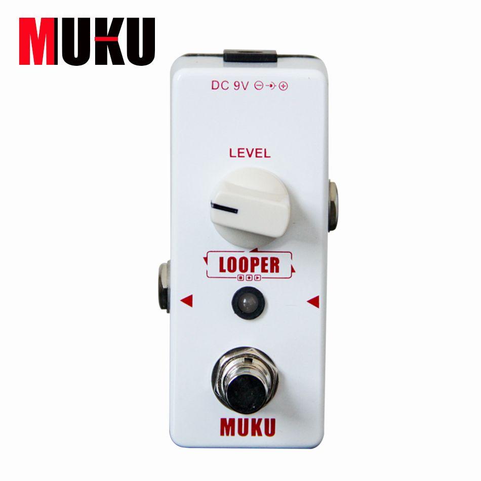 MUKU Micro Looper BT-12 Loop-aufnahme Pedal Gitarre effektpedal Gitarre