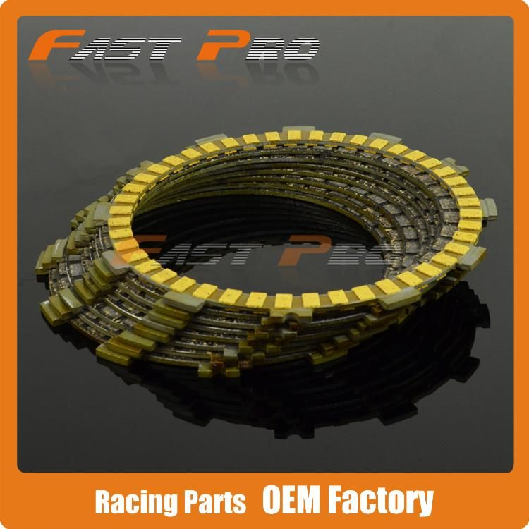 Clutch Plates Disc Set 7pcs for DRZ400 DRZ400E DRZ400S DRZ LTZ LTZ400 LTZ400Z Dirt Bike Motocross Enduro Supermoto ATV Quad
