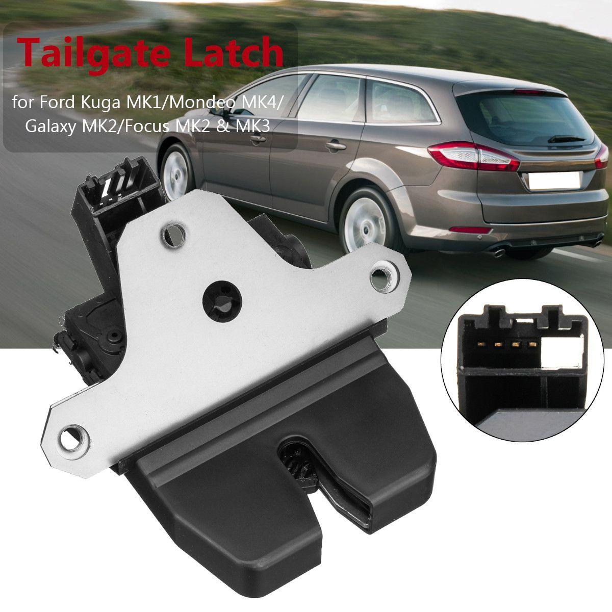 4Pin Tailgate Trunk Lock Latch For Ford Kuga MK1/Mondeo MK4/Galaxy MK2/Focus MK2 & MK3 1920840 1856670 8M51 R442A66DC