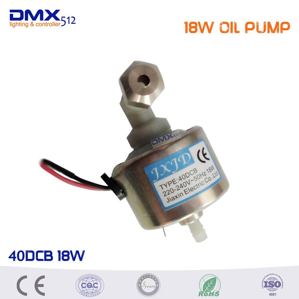 Envío libre 40DCB 18 W bomba de aceite 400 w 600 w 900 w máquina de humo etapa equipo de dj Profesional de aceite bomba